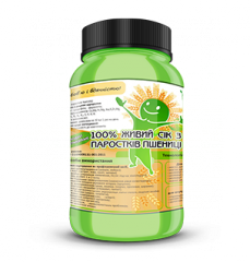 Juice of sprouts of wheat. Active additives from