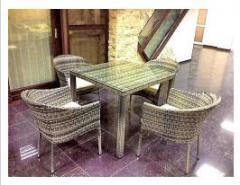 Мебель плетеная из ротанга, столовые гарнитуры из