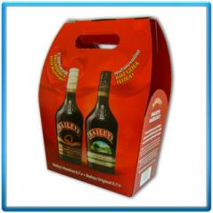 Promotional packing under alcoholic beverages