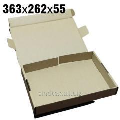 1,31кг 363х262х55 Самосборные картонные коробки 50шт (гофротара) (сск-004)