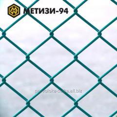 Сетка плетеная рабица с пвх покрытием 35х35х2,5