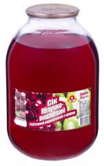 Сок яблочно-вишневый СКО