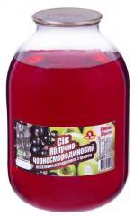 Сок яблочно-черносмородиновый СКО