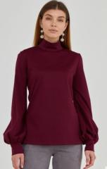 Warm soft terry sweater