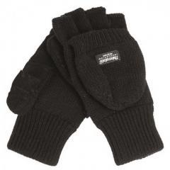 Перчатки вязаные с откидной варежкой Thinsulate