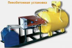 The fast-mounted concrete plants on production of