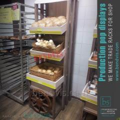 מתלים ללחם ומוצרי מאפה