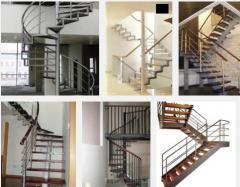Металлические лестницы, Металлоконструкции, Купить