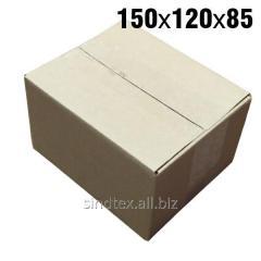 0,38кг 150х120х85 Картонные коробки бурые 50шт (гофроящики) (гтс-002)