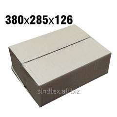 3,4кг 380х285х126 Картонные коробки бурые 50шт (гофроящики) (гтс-004)