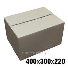 6,6кг 400х300х220 Картонные коробки бурые 50шт (гофроящики) (гтс-005)