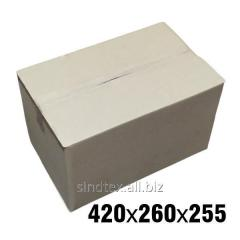7кг 420х260х255 Картонные коробки бурые 50шт (гофроящики) (гтс-006)