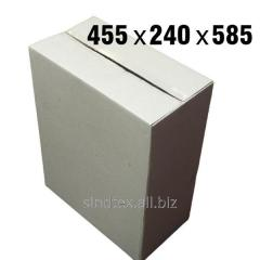 16кг 455х240х585 Картонные коробки бурые 50шт (гофроящики) (гтс-007)
