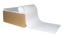 Tape single-layer, faltsovanny in foot, paper for