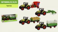 Трактор с прицепом батар. WY900D|E|H|K...