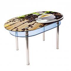 Кухонный стол КС-6 Корал 1100x700x750 мм