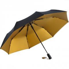 Складной зонт Fare 5529 черный/золотой