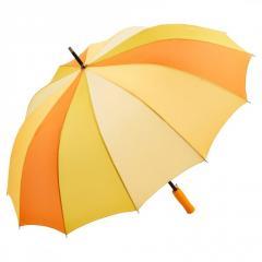 Зонт-трость Fare 4584 комбинированный желтый