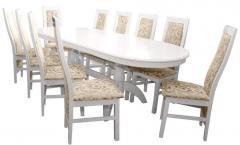 The furniture is lunch. Table set Consul model +