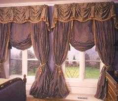 Curtains classical Design, tailoring tyuly,