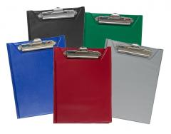 Клипборд-папки BUROMAX, А5, PVC
