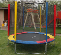 Trampoline of MVM of 244 cm with a protective