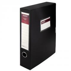 Папка-коробка, 60мм, черная