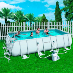 Pools inflatable and frame