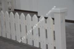 Fence decorative wooden