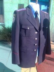 Officer full dress. Full dress of the Ministry of