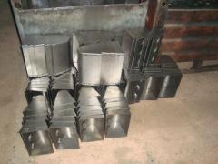 Ladles for. Norijnye buckets, belts, accessories