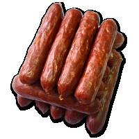 Sausage half-smoked