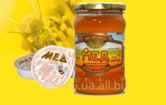 Мед натуральный ПЭТ 1 кг.