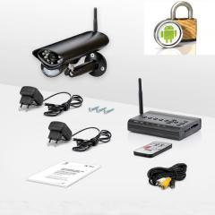 Беспроводная система видеонаблюдения Danrou