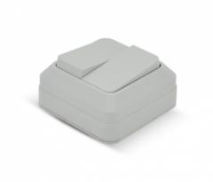Выключатель PRC DSO-2S white без крышки