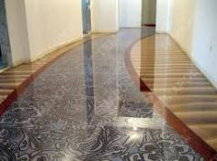 Floors are bulk decorative