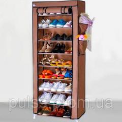 Тканевый шкаф для хранения обуви стеллаж на...