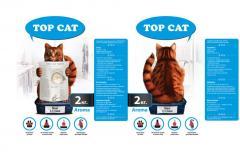 Наповнювач для котячого туалету ТОР САТ maxi