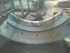 Molding steel Helmet Sector