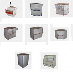 Show-windows steklozerkalny | Tsikl manufacturing