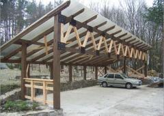 Конструкции из дерева
