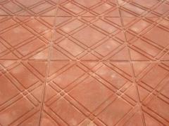 Плитка тротуарная (напольная) полимерпесчаная.
