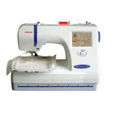 Sewing machines font JANOME MC 300E, 3, 2 types of