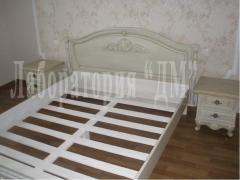 Спальня Элегант різьблена з дерева ясен по Україні