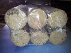 Fuel briquettes of Nestro from strong breeds of