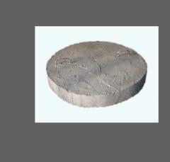 Hatch concrete