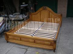Miroslav's bedroom, bed from an ash-tree