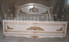 Bedroom Cleopatra, furniture carved to order