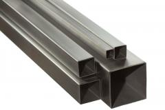 Pipes electrowelded square section