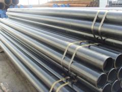 Pipes are steel seamless, corrosion-resistant